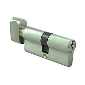 Ruột Khoá Cửa Một Đầu Chìa Một Đầu Vặn 80mm TEXXON EC903-80