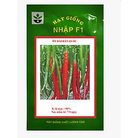 Gói 20 hạt giống ớt dài hàn quốc