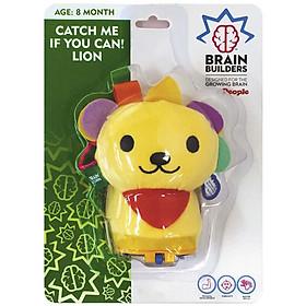 Đồ Chơi Trẻ Sơ Sinh 8 Tháng | Bé Tập Bò Catch Me If You Can! Lion - Brain Builder BB125
