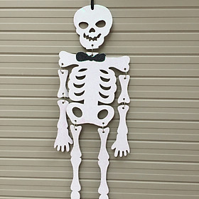 Tranh bộ xương treo trang trí Halloween ( cao 49 cm)