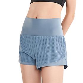Women Sport Shorts Summer Hip Yoga Fitness Sportswear High Waist Quickly-dry Hot Workout Running Shorts