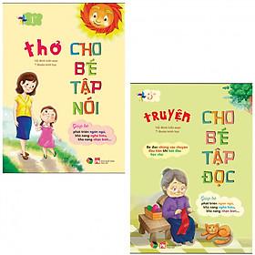 Hình đại diện sản phẩm Combo Thơ Cho Bé Tập Nói, Truyện Kể Cho Bé Tập Đọc (tặng kèm 1 tẩy con vật như hình)