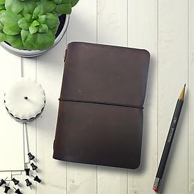 Sổ Da Midori Size Passport - Bullet Journal - Travel Notebook