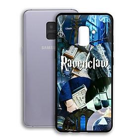 Ốp lưng Harry Potter cho điện thoại Samsung Galaxy A8 2018 Plus - Viền TPU dẻo - 02019 7789 HP05 - Hàng Chính Hãng