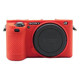 Bao Silicon Puluz Cho Máy Sony A6500 (Đỏ) - Hàng Nhập Khẩu