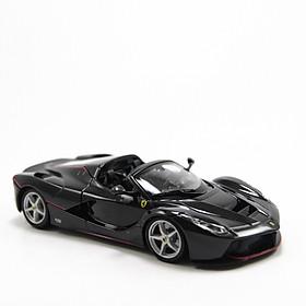 Xe Mô Hình Ferrari Laferrari Aperta Black 1:24 Bburago