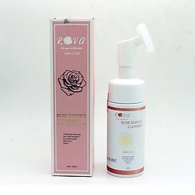 Sữa rửa mặt tinh chất hoa hồng Rova sạch nhờn, ngừa mụn