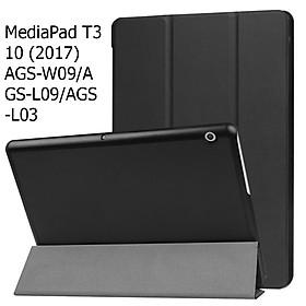 Bao Da Cover Cho Máy Tính Bảng Huawei MediaPad T3 10 (2017) Hỗ Trợ Smart Cover