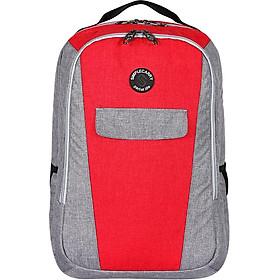Balo Simplecarry H3 M D.Red/Grey 0211231 (44 x 32 cm) - Đỏ Xám