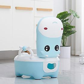 Bô vệ sinh cho bé QIHUA,Đa năng có đệm,ngăn chứa tháo lắp vệ sinh dễ dàng
