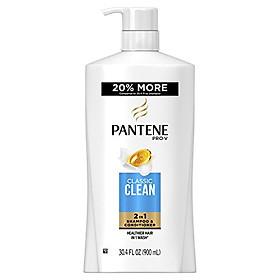 Dầu Gội & Xả Pantene Pro-V Clacssic Clean 2in1 900ml - USA