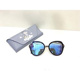 Kính mát nữ, tráng gương, kiểu dáng hiện đại, UV400, mắt kính phân cực SKME3771