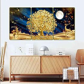 Tranh treo tường trang trí phòng khách, phòng ngủ, phòng ăn:4420L15F