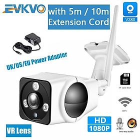 Camera Ip Wifi Không Dây V380 Hd 1080p