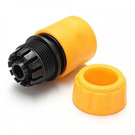 Đầu nối ống 1,2 cm màu vàng