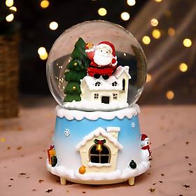 Quả cầu noel ngôi nhà tuyết trắng