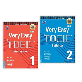 Sách - Combo Very Easy Toeic 1 + Very Easy Toeic 2 - FirstNews
