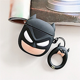 Case Ốp Silicon Bảo Vệ Cho Apple AirPods / AirPods 2 Batman
