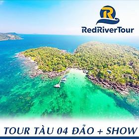 Tour 4 Đảo Phú Quốc: Hòn Móng Tay - Hòn Dăm Ngoài - Hòn Gầm Ghì - Hòn Rỏi, Xem Rainbow Show, Bữa Trưa Trên Nhà Hàng Nổi, Câu Cá Lặn Ngắm San Hô, Đón Trung Tâm Dương Đông, Khởi Hành Hàng Ngày (Dịch Vụ Thêm: Lặn Bình Khí)