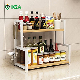 Kệ Gia Vị Để Bàn Nora Cho Phòng Bếp Gọn Gàng - GM04
