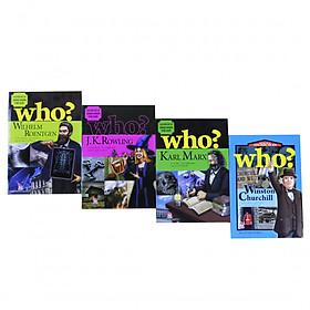 Sách Kiến thức - Bộ 4 cuốn - Danh nhân thế giới - Wilhelm Roentgen,J.k.Rowling,Karl Marx,Winston Churchill