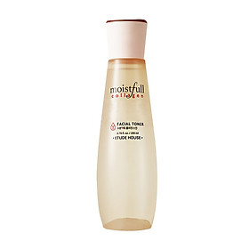 ETUDE HOUSE Moistfull Collagen Facial Toner 6.76 fl.oz. (200ml) - Long Lasting Moisturizer with Super Collagen Water and Baobab Water, Makes Skin Plump and Smooth