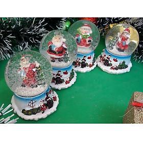 Quả Cầu Tuyết Trang Trí Giáng Sinh Hình Ngày Noel - Mẫu Ngẫu Nhiên
