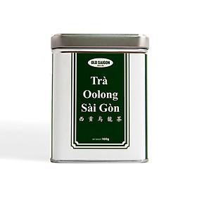 Trà ô long Sài Gòn hộp thiếc 100 gr hàng chính hãng Oldsaigon