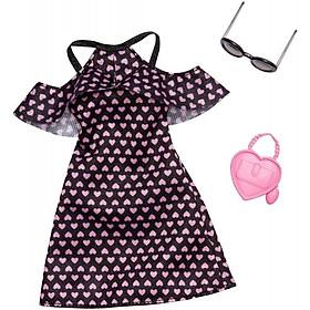 Phụ kiện búp bê thời trang của Barbie-Cô nàng quyến rũ BARBIE FXJ16/FND47
