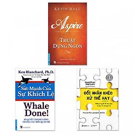 Combo 3 cuốn: Thuật Dụng Ngôn, Sức Mạnh Của Sự Khích Lệ, Đối Nhân Khéo - Xử Thế Hay