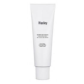 Gel rửa mặt dịu nhẹ dành cho da nhạy cảm Huxley Cleansing Gel; Be Clean Be Moist 10ml - Travel size