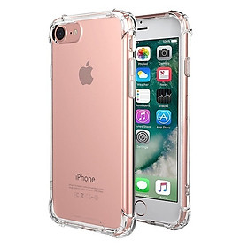 Ốp Lưng Dẻo Chống Sốc Phát Sáng Cho iPhone 7 Plus/7s Plus (Trong Suốt)