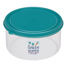 Hộp nhựa tròn Komax Green koper 50671 (200ml)