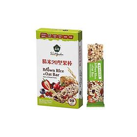 Thanh bánh quả hạch gạo lứt Sweet Garden Đài Loan (23gx10 que)/ hộp