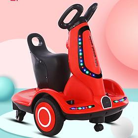 Xe trượt cân bằng có đèn và nhạc cho bé PR003 (giao màu ngẫu nhiên)