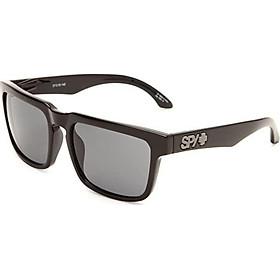 Spy Optic Helm Flat Sunglasses, Black Frame/Grey Lens, One Size