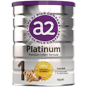 A2 Platinum Follow On Formula Stage 1 900g Sữa Bột Công Thức Protein A2 Dành Cho Trẻ Sơ Sinh Đến 6 Tháng Tuổi