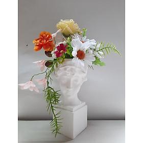 Lọ hoa Chiếc nón hoa phong cách Hy Lạp