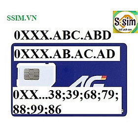 SIM 4G MOBIFONE (MIỄN PHÍ 120GB DATA + 1000P MOBI + 50 LM)- HÀNG CHÍNH HÃNG