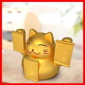 Loa Nghe Nhạc Bluetooth Q8 Hình Con Mèo May Mắn Hỗ Trợ USB Với Âm Thanh Siêu Trầm