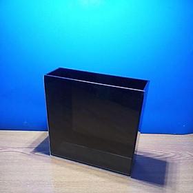 hồ show cá Guppy - bảy màu. cá betta  (Acrylic màu đen. mặt trong suôt