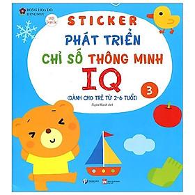 Sticker Phát Triển Chỉ Số Thông Minh IQ - Tập 3