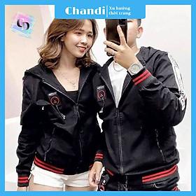 Áo Khoác Dù Nam Nữ Unisex , thời trang thu đông thương hiệu Chandi chất liệu thấm hút mồ hôi dày dặn mặc thoáng mát KD07