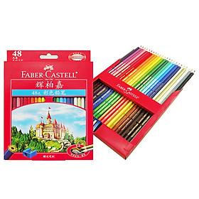 Faber-castell Oily Color Pencil 48 Color Pencil Colored Colored Pencil Pencil Set Castle Series (gift pen)