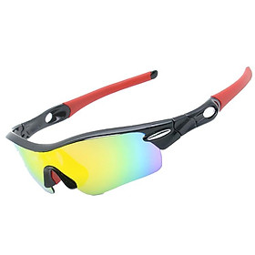 Sports Sunglasses Road Bicycle 5 Lens Glasses Mountain Cycling Riding Protection Goggles Eyewear Mtb Bike Sun Glasses