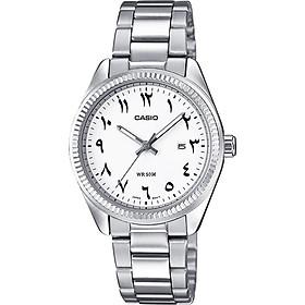 Đồng hồ nữ dây thép không gỉ Casio LTP-1302D-7B3VDF