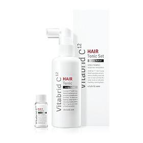 Bộ Sản Phẩm Cho Tóc Gãy Rụng - Vitabrid C12 Hair Tonic Set