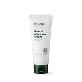 Kem dưỡng ẩm chiết xuất lô hội hữu cơ Aromatica Natural Aloe Aqua Cream 150g