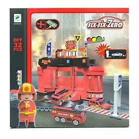 Bộ Đồ Chơi Mô Hình Trạm Cứu Hỏa Và Xe Boy Toys 660-A81