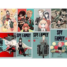 Poster ảnh IN HÌNH Spy x Family Gia đình điệp viên anime